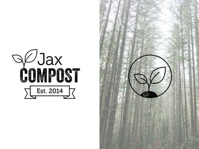 Logo design for Jax Compost