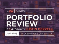 AIGA Jax Portfolio Review Graphics