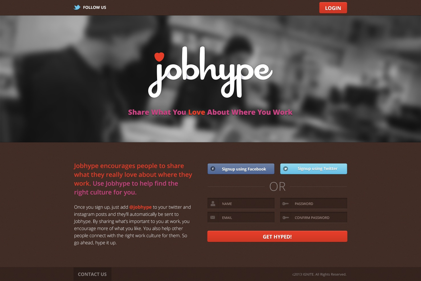 Jobhype home 1