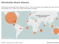 Worldwide Shark Attacks