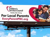 Every Parent  PBC app billboard design