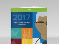 ASCO Report Cover design