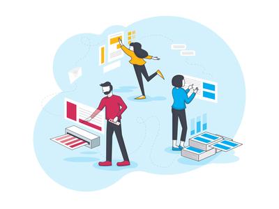 Web Header Illustration