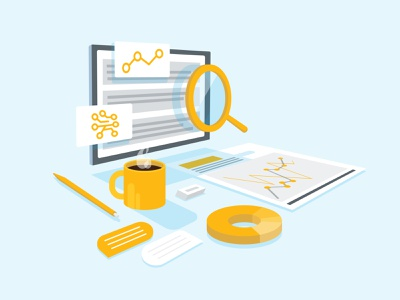 Transparency Illustrative Icon web design paper pen yellow graph chart transparency chat coffee icons marketing illustrator dribbble branding layout brand illustration flat design vector graphic design