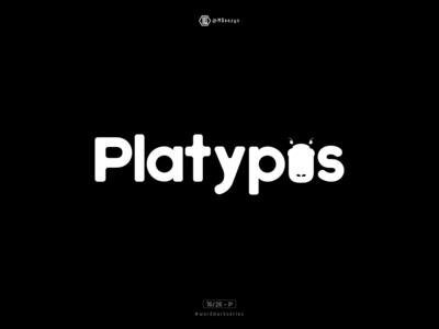 Platypus - Wordmark Series (16/26)