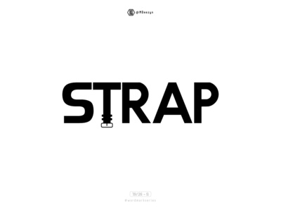 Strap - Wordmark Series (19/26)