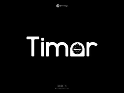 Timer - Wordmark Series (20/26)