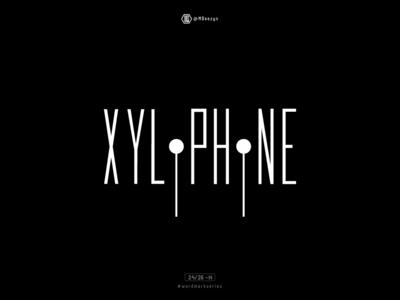 Xylophone - Wordmark Series (24/26)