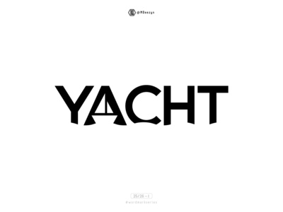 Yacht - Wordmark Series (25/26)