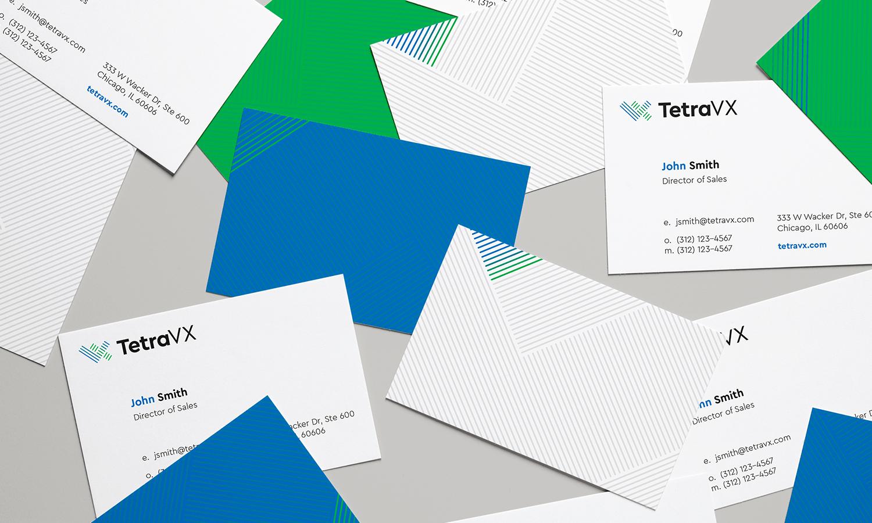 Portfolio tetravx business cards