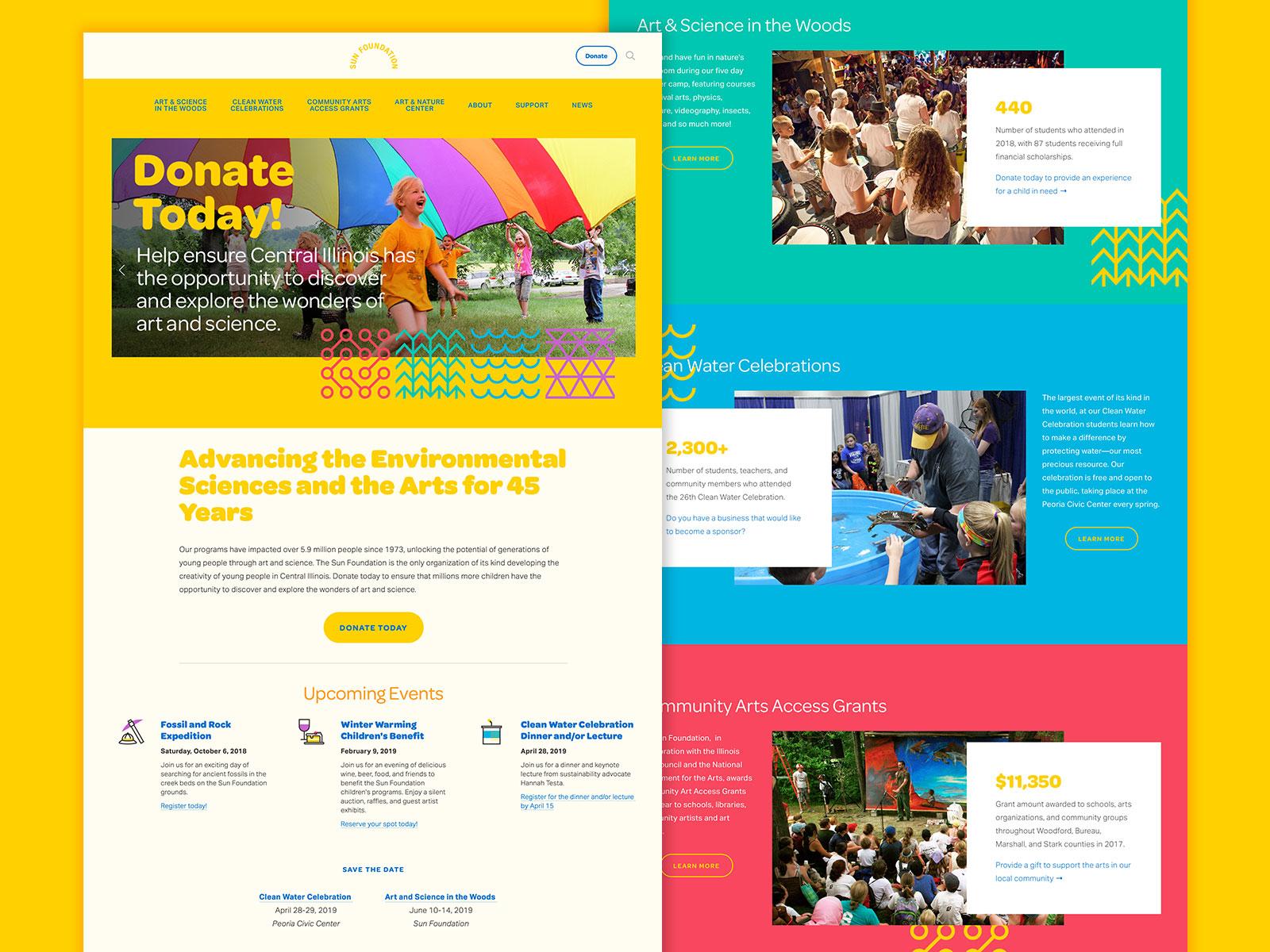 Sun foundation website