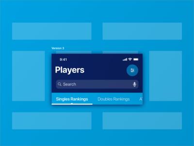 ATP Mobile App : Navigation (Feedback Results)