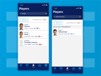 ATP Mobile App : Search (Players)