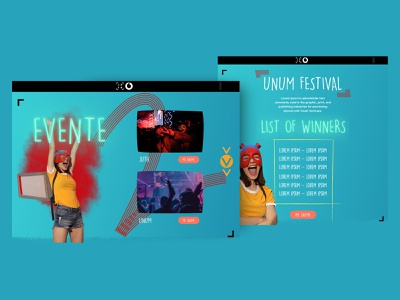 """Juth"" by Vodafone Albania youth website website uidesign uiux youth desgin youthful youth juth vodafone vodafone albania"