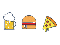 Beer & Food Icons