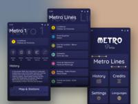 Metro Line Guide (Paris)