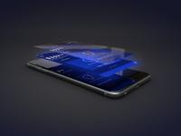iPhone app pull apart concept