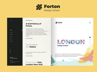 "LONDON DESIGN SCHOOL - ""Forton"""