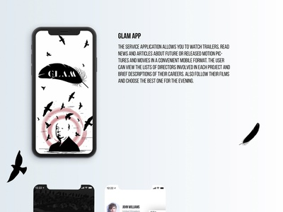 GLAM APP interface interface design interfase graphic design graphic illustration ui ui  ux design branding design logo ux app branding app