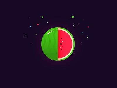 watermelon practice illustration