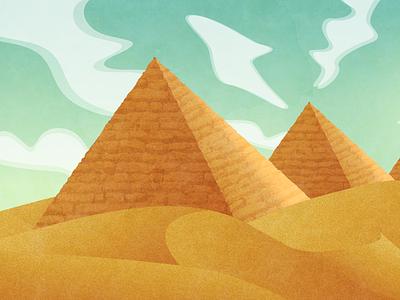 desert practice illustration