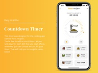 Daily UI #014. Countdown Timer