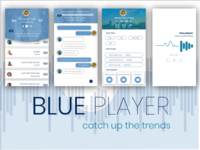 Blue player - catch up the trends