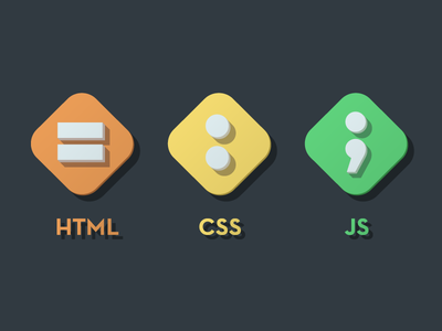 my good friends html css js flat bright icon icons shadows