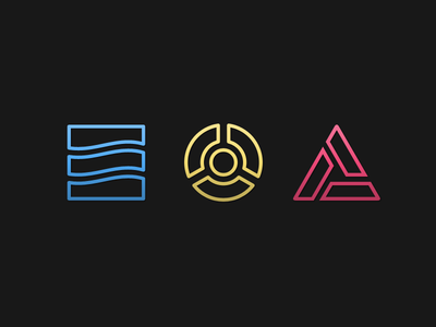 Macaw Elements elements primitives geometry primary icons