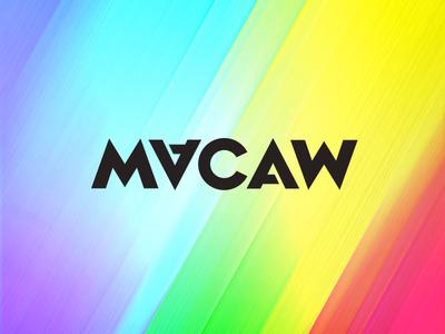 Macaw Logo macaw logo rainbow