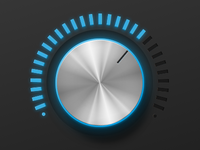 Volume Control Rendered Completely in CSS