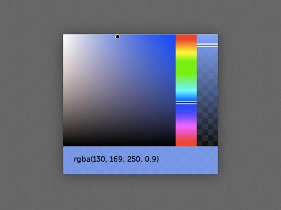 minimal chrome color picker color color picker alpha