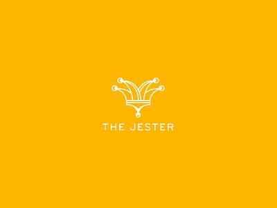 The Jester logo illustration jester kingdom icon hats branding