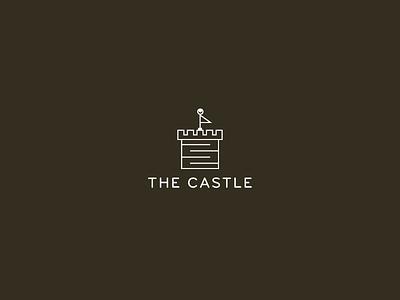 The Castle illustration icon logo branding hats castle