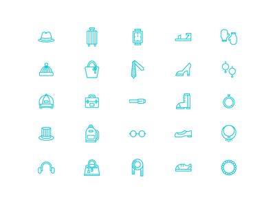 Accessory Icons icon illustration accessories