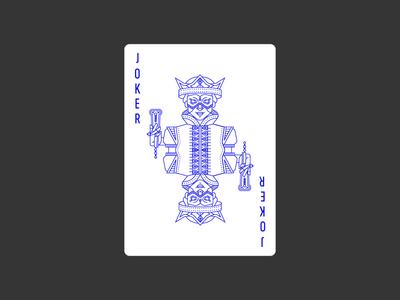 Joker 1 civilization playing card icon graphic design jester clown joker deck lineart illustration poker playing card