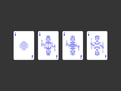 Spades africa spades lineart icon deck civilization playing card playing card graphic design illustration