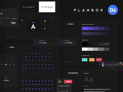 Plånbok 💸 - Behance Case Study darktheme ux uiux ui wallet mobile app case study behance