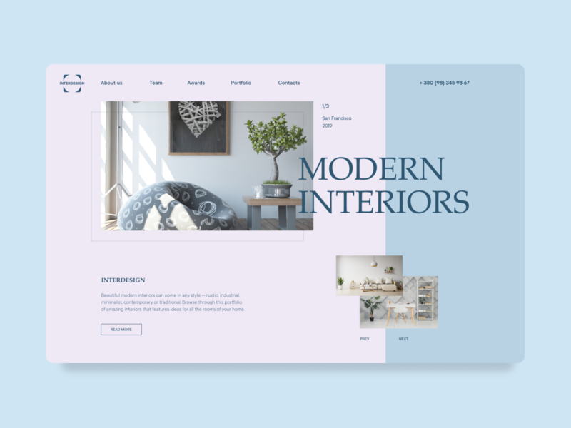 Modern Interiors Website