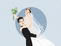 我发小——香菇要嫁人了