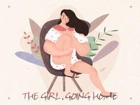 人物练习-the girl