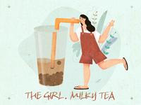 人物练习-milky tea