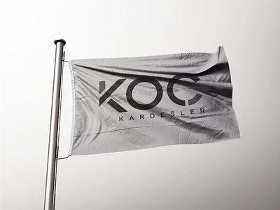 KOÇ KARDEŞLER - Logo Design application turkey flag logo digital drawing new brkckroglu creative design art