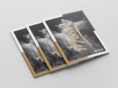 Neşve - Menü smile mockup catalog indesign black global turkey caffee menü digital new brkckroglu creative design art