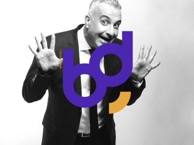 BD - Logo Design smile agency new illustration vector orange purple turkey drawing bekirdeveli brkckroglu creative design art
