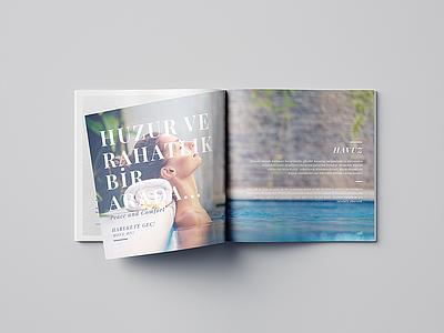 Navitas Spa - Catalog Design mockup graphicdesign freelance designer turkey massage magazine relaxation pool spa catalog design new digital illustration brkckroglu creative design art