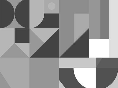 Geometric white black turkey design branding pattern box illustration digital creative art agency new brkckroglu geometric geometric art