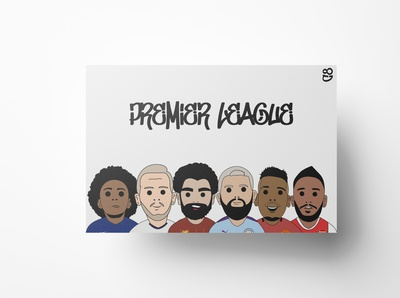 Football Premier League Print.