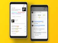 Google Podcast Profiles & Engage Feature UI