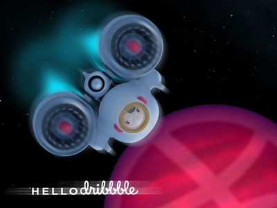 AstroBoy say... Hello Dribbble